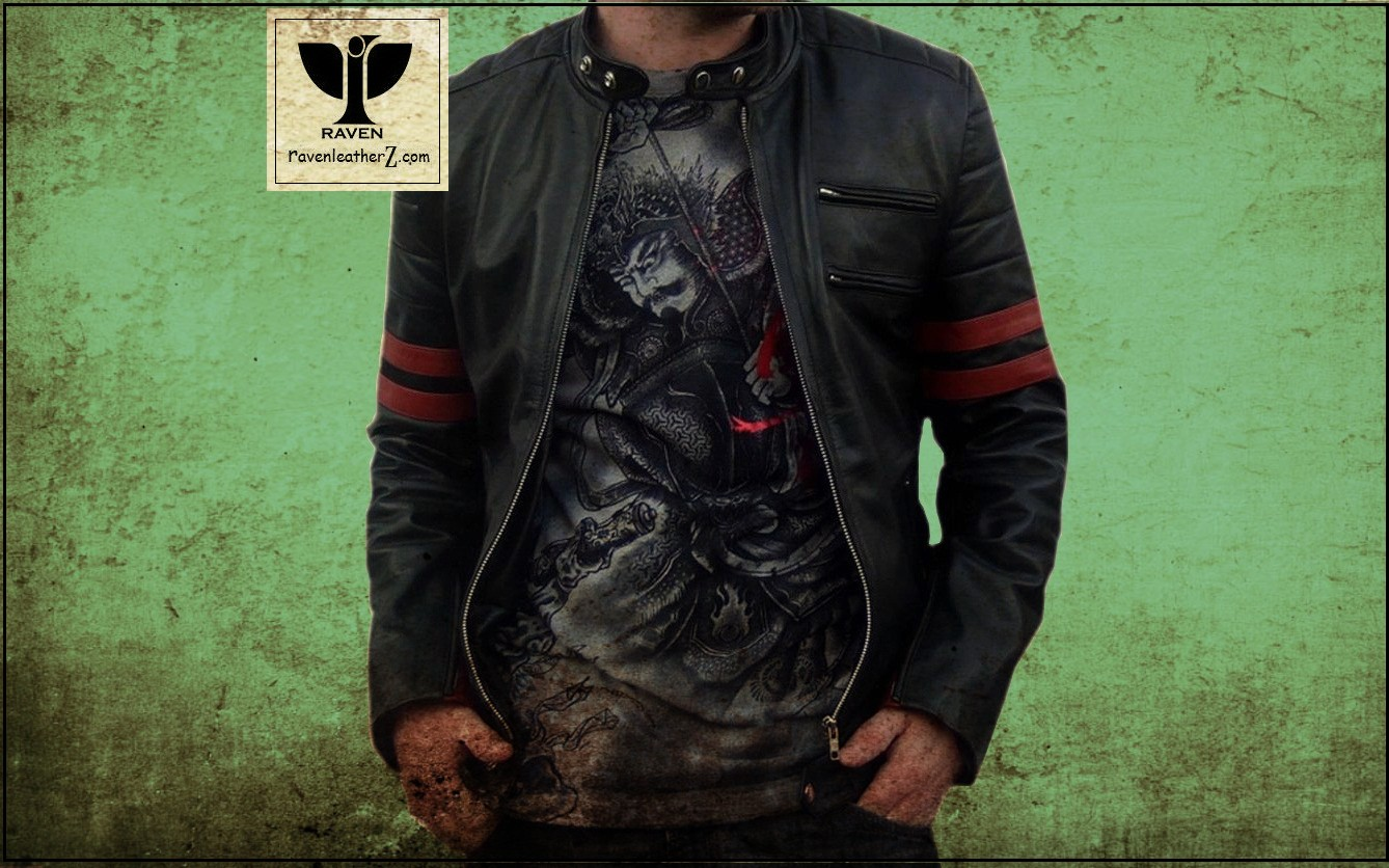 Biker Jacket in Bangladesh Front Side