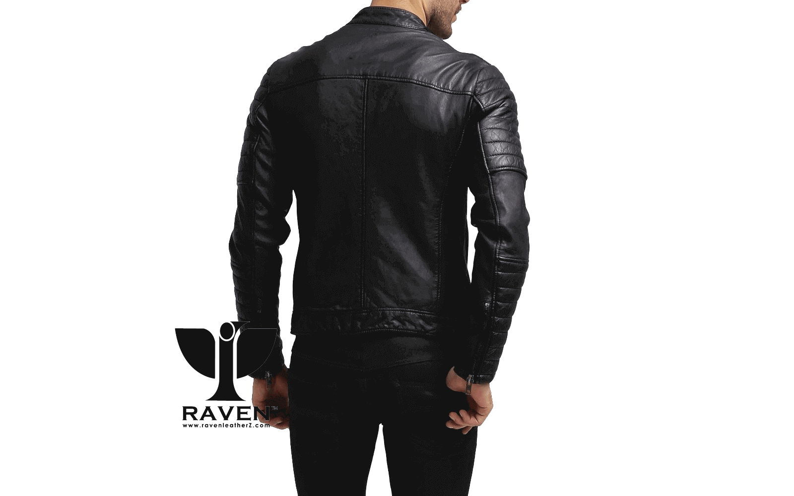 Slim-Fit-Quilted-Moto-Rider-Jacket-Back-Side