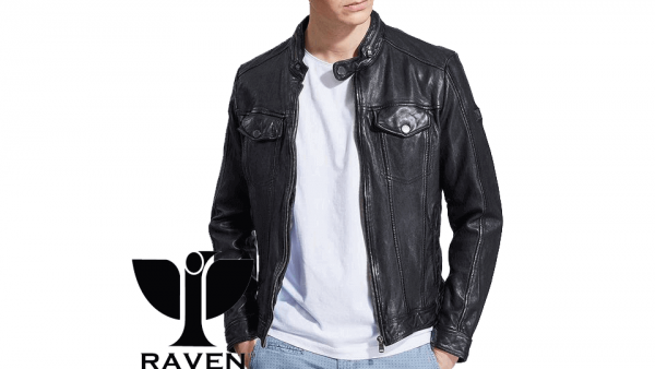 Black Hipster Style Jacket Front Side