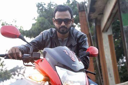 Mens Quilting Shoulder Motor Biker Jacket