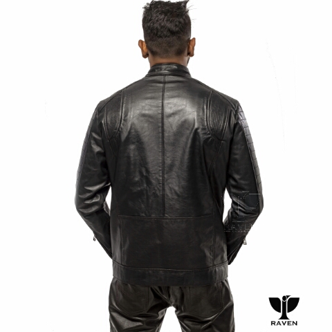 RE-08 Slim Fit Casual Sports Jacket Back side