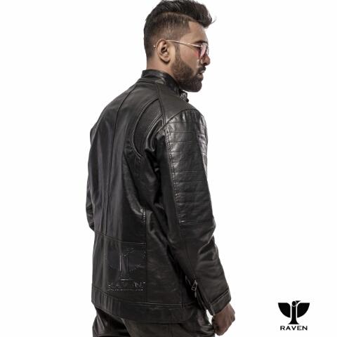 RE08 Slim Fit Casual Sports Jacket Left Backside
