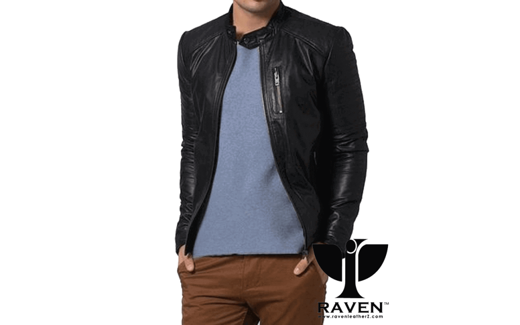Slim Fit Casual Sports Jacket Front Side