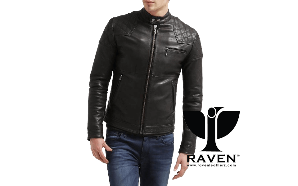 Slim Fit Quilted Racing Jacket ( Winter 2018-2019 )