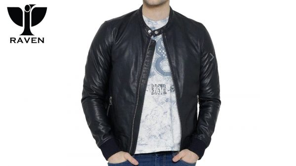 Black-Bomber-Jacket-Front-Side