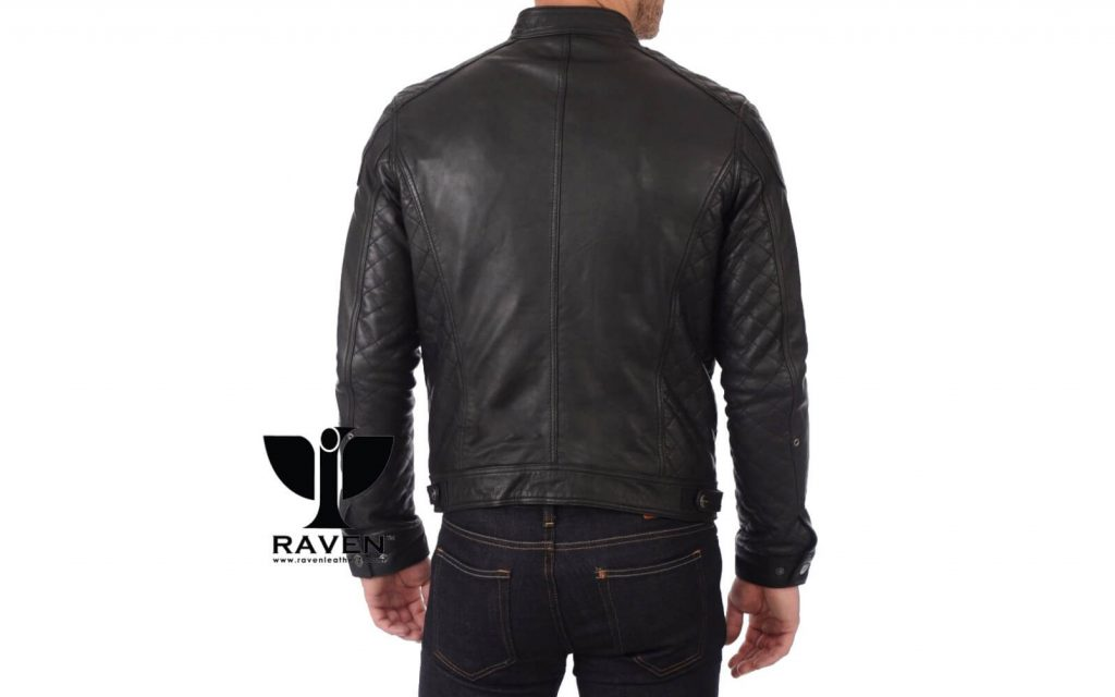 Quilted Motor Cycle Rider Jacket Back Side ( Winter 2018-2019 )