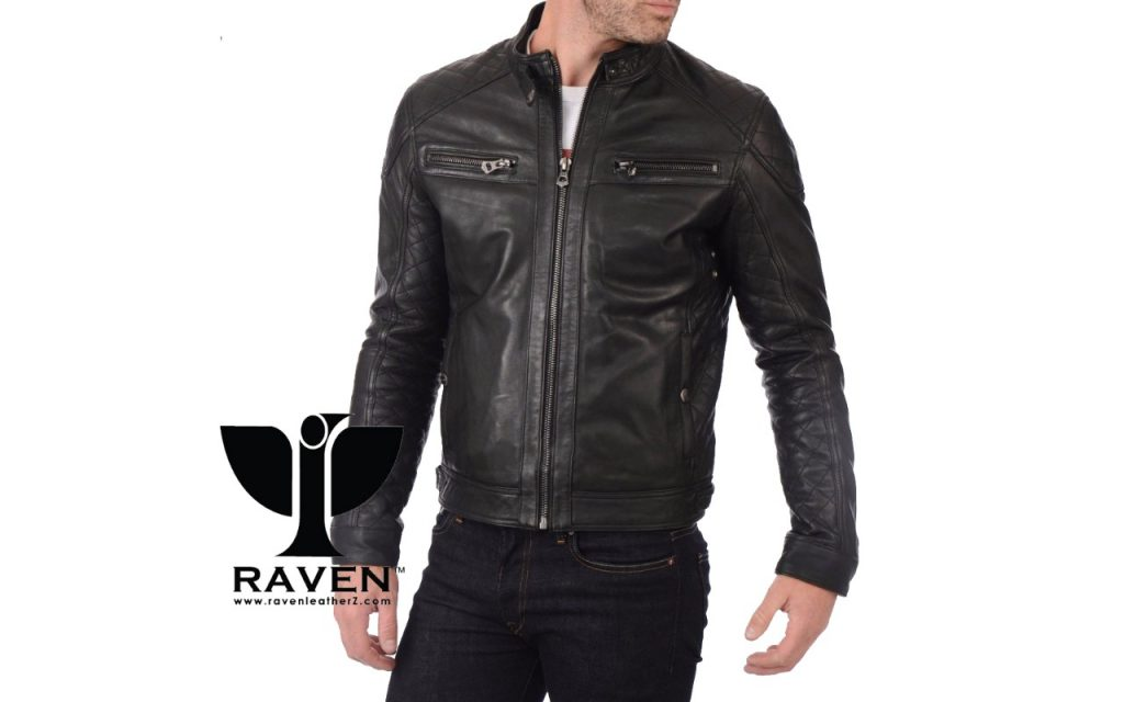 Quilted Motor Cycle Rider Jacket Front Side ( Winter 2018-2019 )