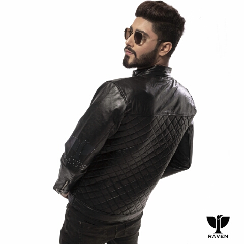 RR-04 Quilted Diamond Party Jacket Left Backside