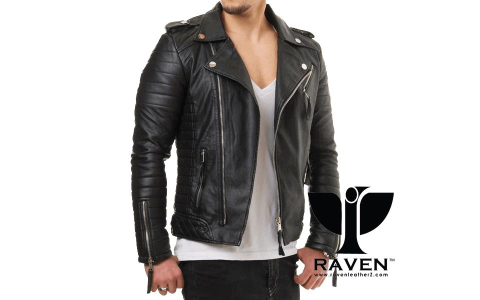 Slim-Fit-Hybrid-Biker-Jacket-Front-Side ( Winter 2018-2019 )