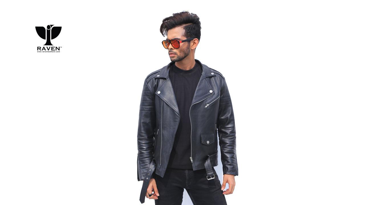 Raven Buy Genuine Leather Jacket Bag Wallet And Belt In Dhaka