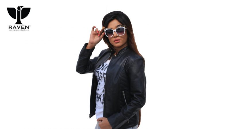 NR-08 Black Side Quilted Cropped Ladies Jacket