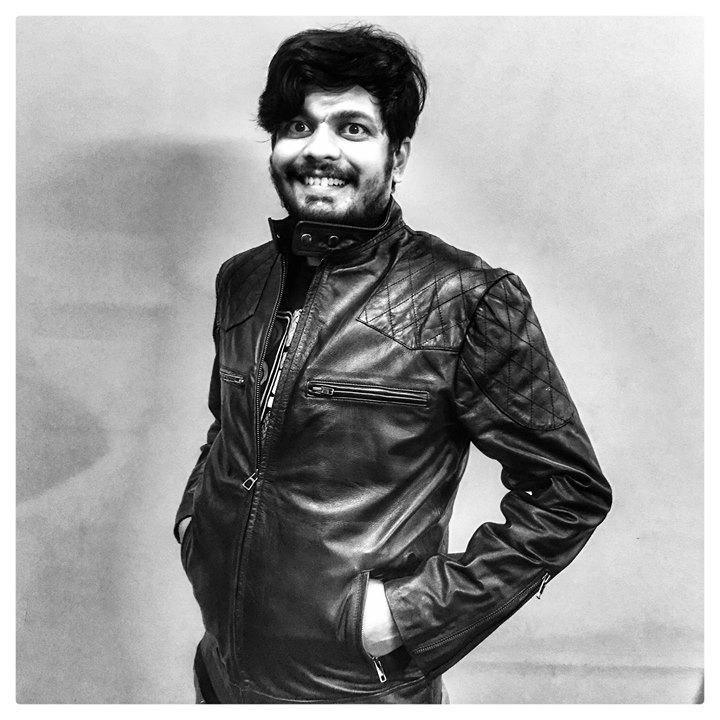 Syed Ishtiaque Ali Wearing BR-02 David Beckham Leather Jacket by RAVEN