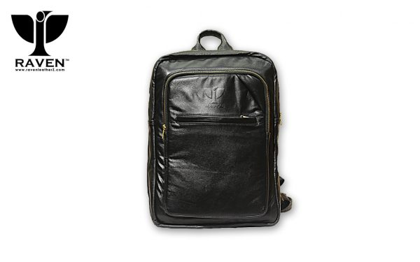 RAVEN Genuine Leather Backpack RUB06 from Dhaka Bangladesh
