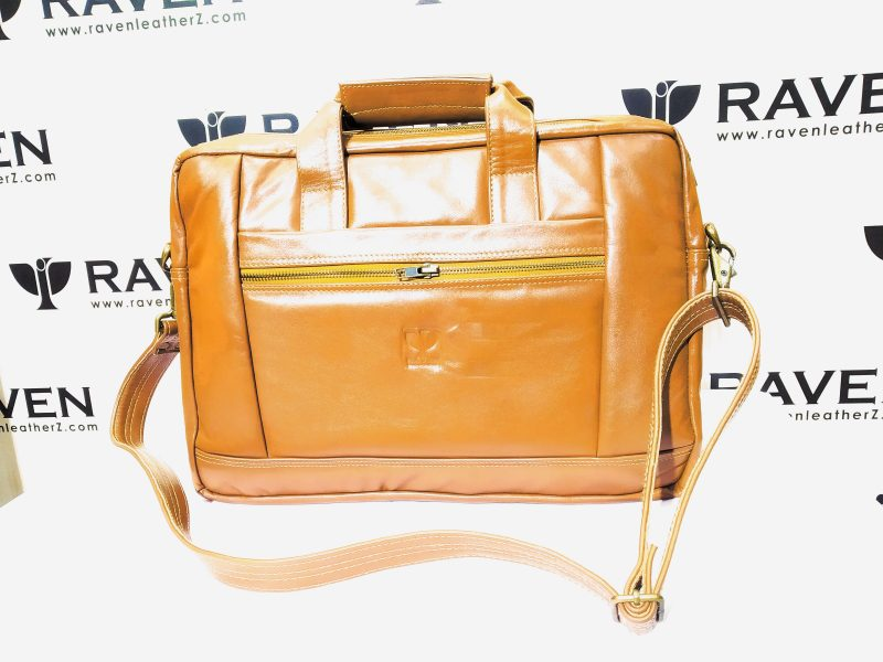 Genuine Leather Office Bag RoF 01 front side from Dhaka Bangladesh