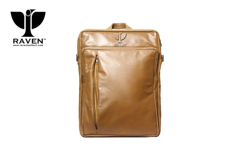 RUB 10 Genuine Leather Backpack by RAVEN from Dhaka Bangladesh