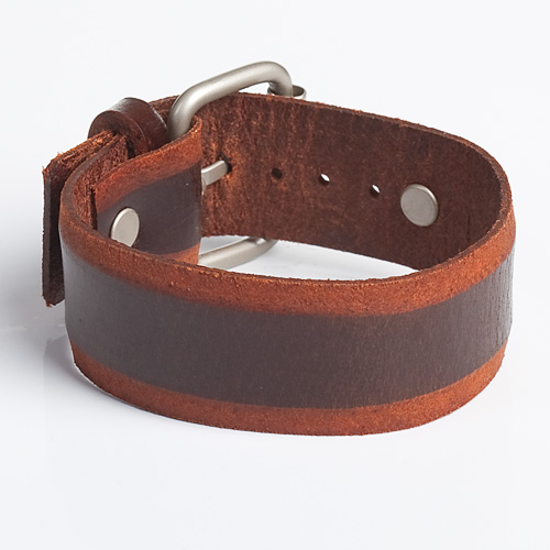 Brown-Vintage-Look-Leather-Wristband-for-Men-in-BD