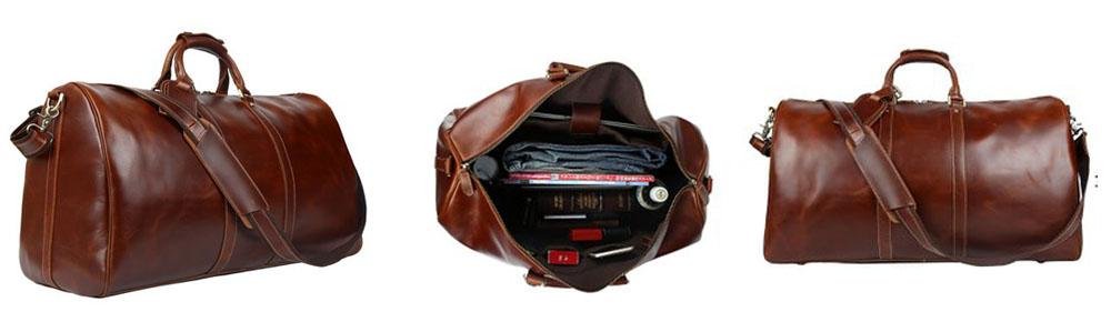 Men's-Genuine-Leather-Weekend-Duffel-Bag-in-Bangladesh