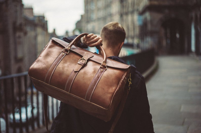 Men-Genuine-Leather-Duffel-Bag-in-Bangladesh-with-Vintage-Finish