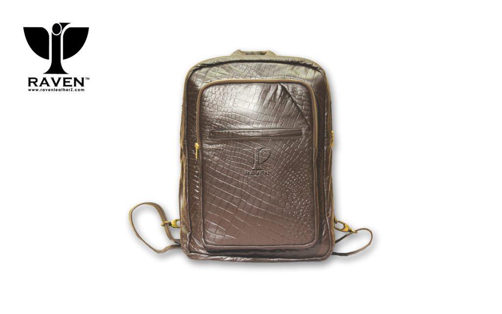 Brown-Crocodile-Ambush-Backpack-RUBC04