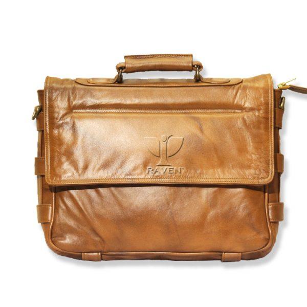 -Brown-Medium-Messenger-bag-RMMB-02-Back-Side