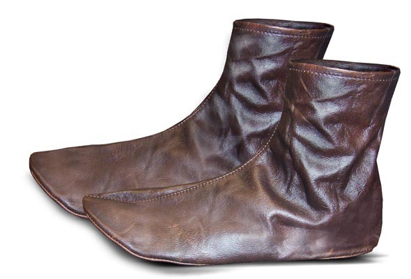 Vintage-Look-Leather-Sock-in-Bangladesh