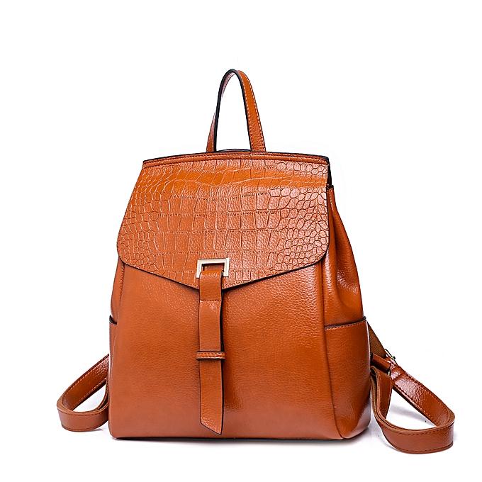 Ambushed-Upper-Genuine-Leather-Ladies-Backpack-in-BD