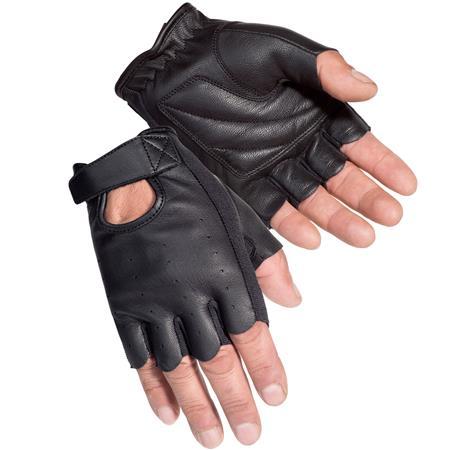 Black-Fingerless-Leather-Hand-Gloves-for-Men-in-BD
