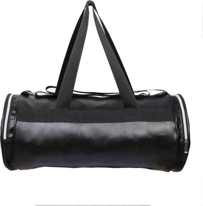 Black-Leather-Gym-Bag-For-Men-in-BD