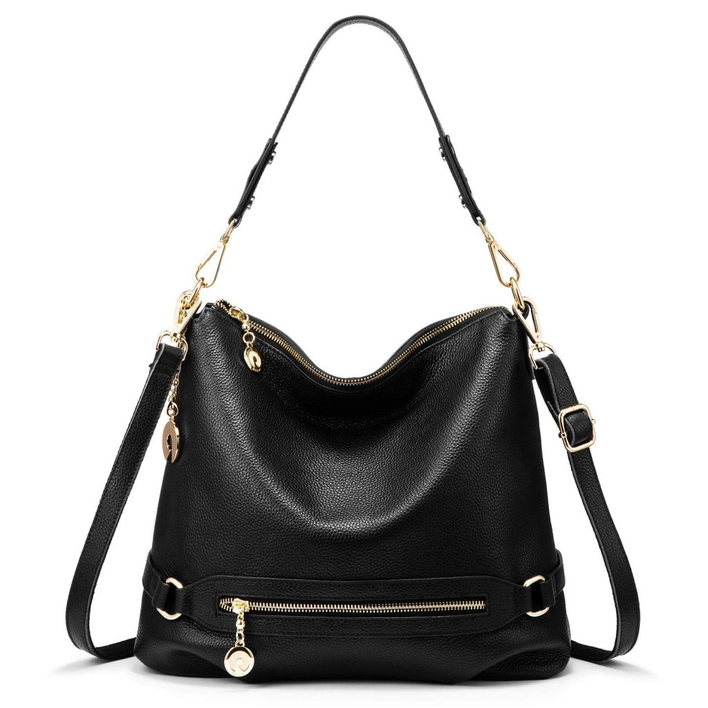 Black-Shinny-Ladies-Leather-Handbag-in-Bangladesh.