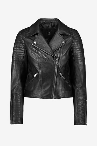 Black-Stylish-Biker-Jacket-For-Women-in-BD