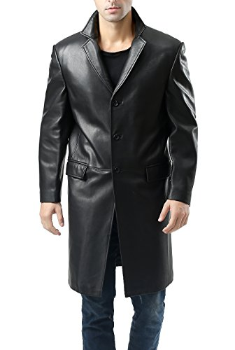 Blazer-Style-Leather-Trench-Coat-For-Men-In-BD