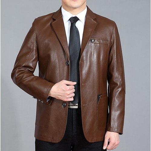 Dark-Chocolate-Leather-Coat-for-Men-in-BD
