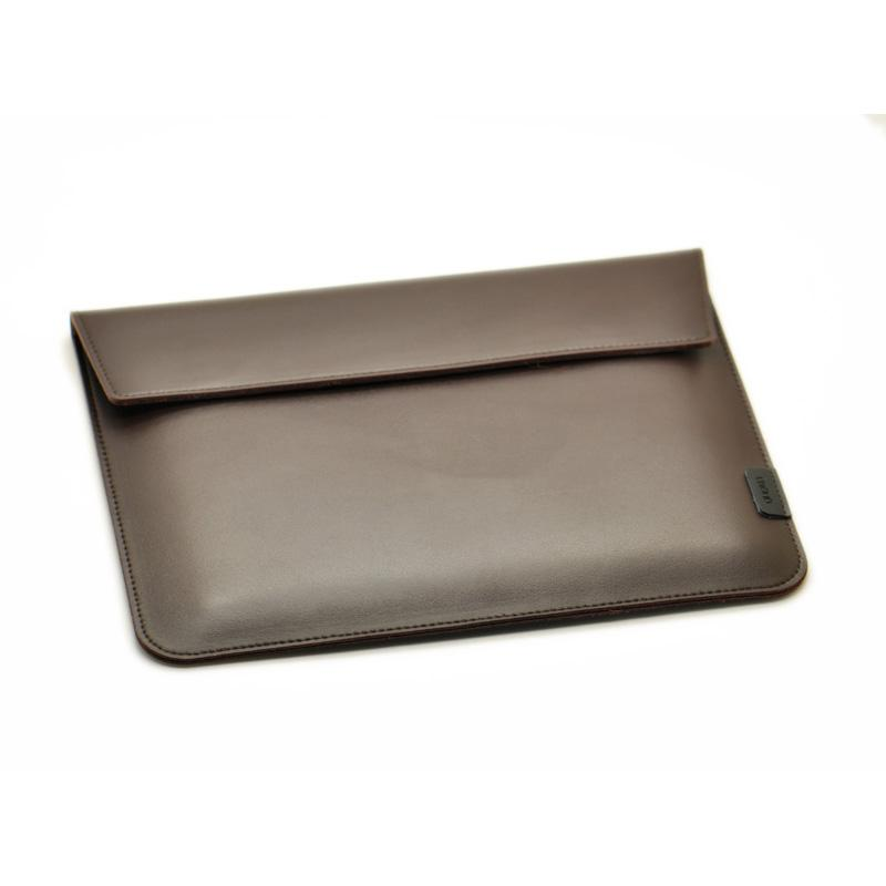 Deep-Chocolate-Genuine-Leather-Laptop-Pouch-for-Men-and-Women-in-BD