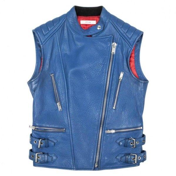 Light-Blue-Sleeveless-Leather-Jacket-for-men-in-BD