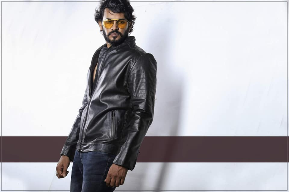 Mahmud Tutul Wears RR-02 Slim Fit Quilted Jacket for Men 3