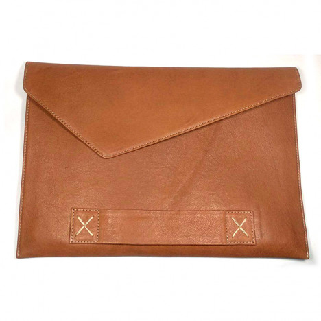 Redish-Tan-Color-Envelope-Style-Leather-Laptop-Pouch-For-Men-and-Women-in-BD