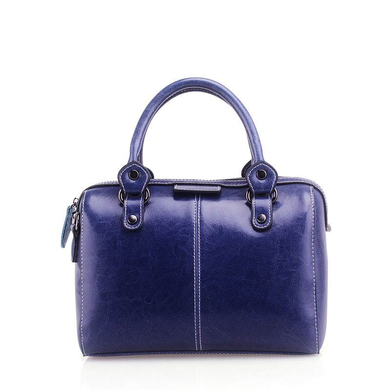 Royal-Blue-Color-Ladies-Leather-Hand-Bag-in-BD