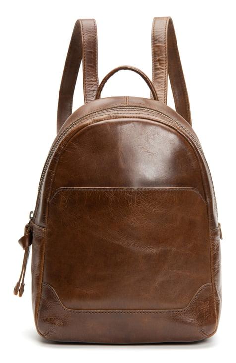 Vintage-Tan-Color-Genuine-leather-backpack-in-BD