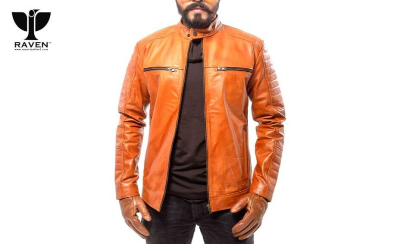 RR-06 SLIM FIT MASTER COLOR QUILTED MOTO RIDER JACKET