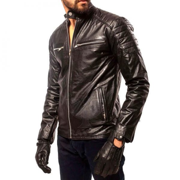 RX-02 SLIM FIT ROCK N ROLL JACKET FOR MEN