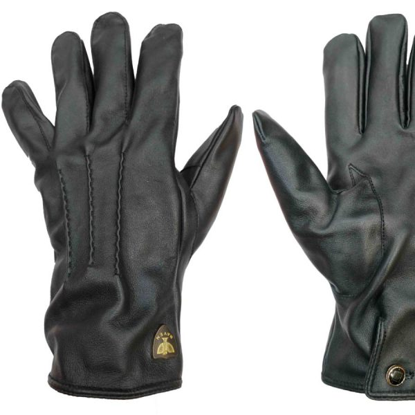Upper Quilted Genuine Leather Hand Gloves
