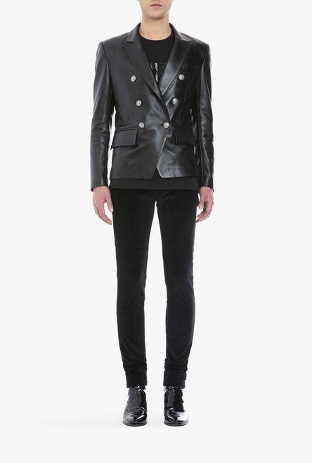 Double-Brested-Leather-Blazer-for-Men