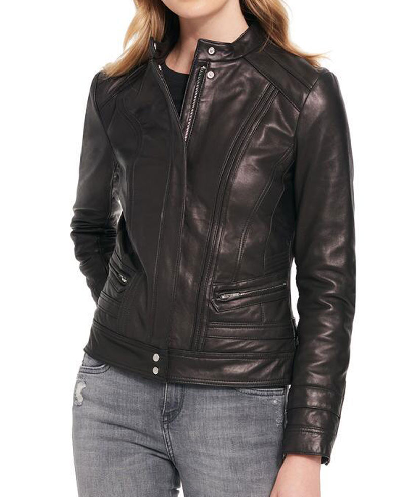 womens-Quilted-Slim-Fit-rivet-scuba-leather-jacket