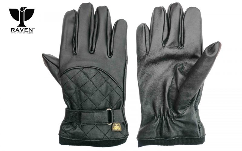 Diamond Quilted Full Hand Gloves